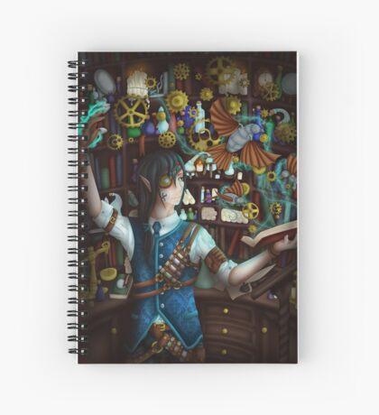 The Clockwork Chymist Spiral Notebook