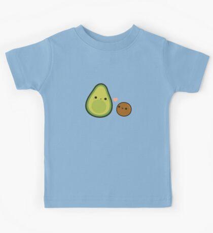 Cute avocado and stone Kids Tee