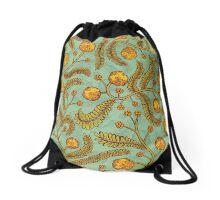 Flower Pattern Acacia Drawstring Bag