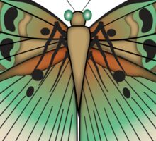 Paisley Butterfly Sticker