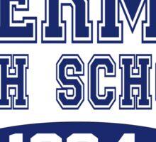 The Breakfast Club - Shermer High School Sticker