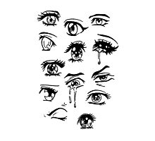 anime eyes Photographic Print