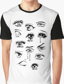 anime eyes Graphic T-Shirt