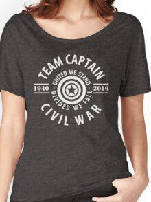 TEAM CAPTAIN - CIVIL WAR Women's Relaxed Fit T-Shirt