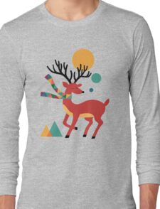 Deer Autumn Long Sleeve T-Shirt