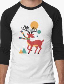 Deer Autumn Men's Baseball ¾ T-Shirt