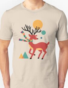Deer Autumn Unisex T-Shirt