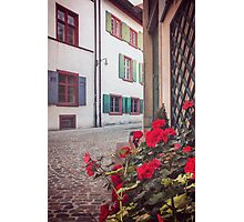 The Old Town of Basel  Photographic Print