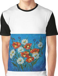 Bright Flowers Graphic T-Shirt