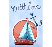 With love card Photographic Print