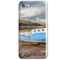 Boat at Kippford Photograph Dumfries and Galloway iPhone Case/Skin