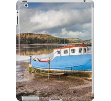 Boat at Kippford Photograph Dumfries and Galloway iPad Case/Skin