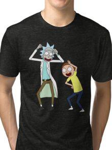 COME ON RICK n MORTY Tri-blend T-Shirt