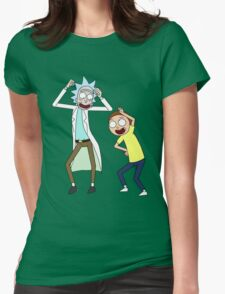 COME ON RICK n MORTY Womens Fitted T-Shirt