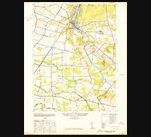 USGS TOPO Map New Jersey NJ Jamesburg 254486 1942 24000 Unisex T-Shirt