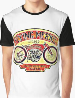 Flying Merkel Graphic T-Shirt