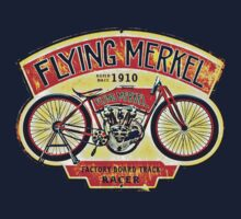 Flying Merkel One Piece - Long Sleeve