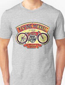 Flying Merkel Unisex T-Shirt