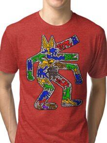 HARING - CROCODILE Tri-blend T-Shirt