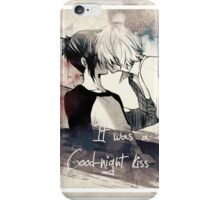 It Was A Goodnight Kiss iPhone Case/Skin