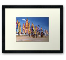 In the Crest, Wildwood, NJ Framed Print