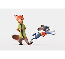 JUDY HOPPS and NICK WILDE Zootopia Photographic Print