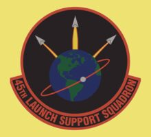 45th Launch Support Squadron Logo Kids Tee