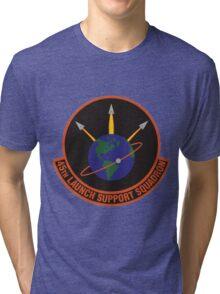 45th Launch Support Squadron Logo Tri-blend T-Shirt