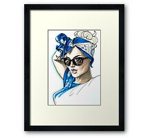 Super Cool Bandana Outfit Framed Print