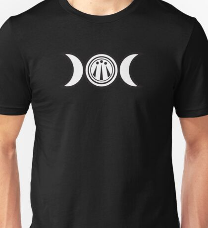 Triple Moon + Awen Unisex T-Shirt