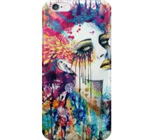 Abstract Woman Face iPhone Case/Skin
