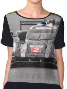 Porsche Team No 2 Chiffon Top