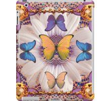 Lace Butterfly Hole iPad Case/Skin