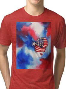 Let Freedom Shine Tri-blend T-Shirt