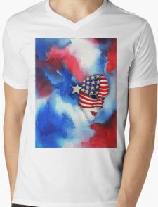 Let Freedom Shine Mens V-Neck T-Shirt