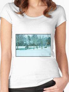 Winter has Arrived Women's Fitted Scoop T-Shirt