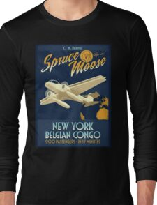 Fly the Spruce Moose Long Sleeve T-Shirt