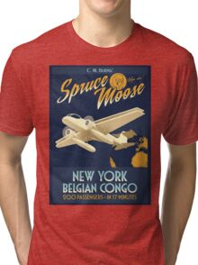 Fly the Spruce Moose Tri-blend T-Shirt