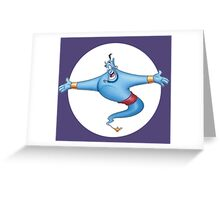 Genie Greeting Card