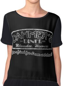 Dahmer's Diner Chiffon Top
