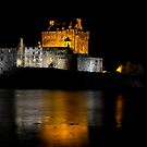 Eilean Donan Castle at Night by derekbeattie