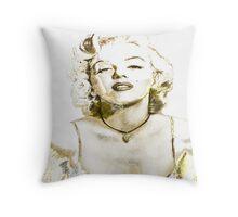 Sexy Monroe Throw Pillow