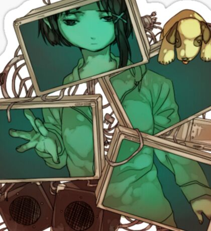 Serial Experiments Lain Sticker