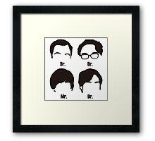 Big Bang Theory UnOfficial Framed Print