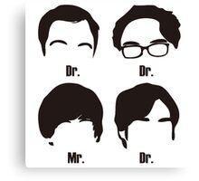 Big Bang Theory UnOfficial Canvas Print