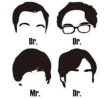 Big Bang Theory UnOfficial Photographic Print