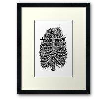 I can't breathe without you Framed Print