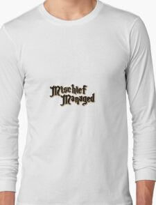 Mischief Managed Long Sleeve T-Shirt