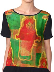 MR ROBOTO FROM THE FUTURE OF 1984 ... Chiffon Top