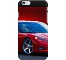 2005 Chevrolet Corvette C6 Coupe iPhone Case/Skin